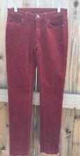 PATAGONIA Corduroy Skinny Pants Rust Color Women's Size 2 (26)