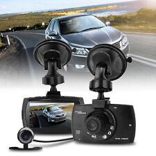 Cam Automatically Switch H.264 1.3M CMOS HD1080P Dual Lens Car Dash Camera DVR