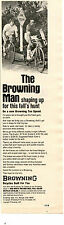 1973 Print Ad The Browning Man Ten Speed Bicycle shaping up for this fall's hunt