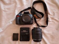 Nikon D D3100 14.2MP Digital SLR Camera - Black (Kit w/ AF-S DX VR 18-55mm Lens)