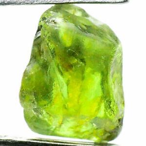 Express Handling - 2.2 Carat - Bright Green Sapphire - Great Facet Rough