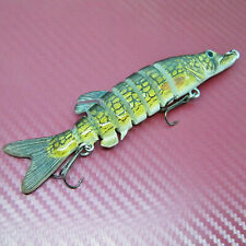 130mm Multi Jointed Hard Fishing Lure Bait Segment Swimbait Fishing Tackle Pike