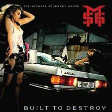 The Michael Schenker Group (MSG) - Built To Destroy (NEW VINYL LP)