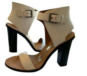 Vince White Nicole Sandals, sz 7.5