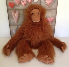 "Large Orangutan Monkey Hand Puppet - 34"" Inches Tall - The Puppet Company"
