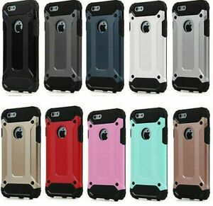 """iPhone 7 Case Shockproof Bumper Rugged Hybrid Cover for Apple 4.7"""""""