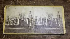 Civil War Milwaukee National Asylum for Disabled Volunteer Soldiers Stereoview