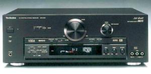 AMPLIFICADOR AV CONTROL TECHNICS STEREO RECEIVER SA-DA8 - 5.1 - 5X100W RMS
