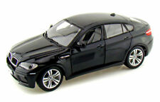 BMW X6 M, Black - Bburago 12081 - 1/18 scale Diecast Model Toy Car