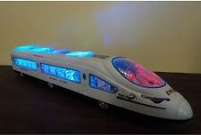 High-speed train toy speed  EMU flashing lights