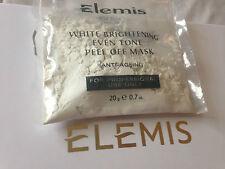 ELEMIS 1 blanc éclaircissement homogène ton PEEL-OFF Masque 20g anti-âge vite D