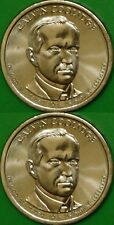 2014 US (P and D Mints) Calvin Coolidge Dollars Graded as Brilliant Uncirculated