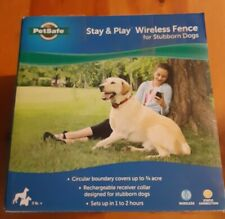 PetSafe Pif00-13663 Stay and Play Wireless Fence Made for Stubborn Dogs Open Box