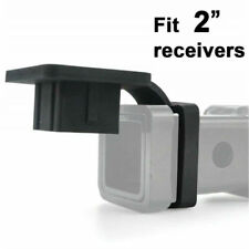 """2"""" Rubber Trailer Receiver Hitch Cover Plug Protector for Toyota Jeep Mercedes"""