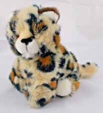 """Embrace Spotted Cat Leopard Baby Kitten Plush 7"""" Tall"""