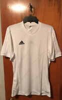 Nwt Men's Adidas tabela 14 Training Jersey Climacool. Size Small & White