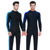 Adult Womens Mens Full Body Wetsuit Diving Snorkeling Surfing Scuba