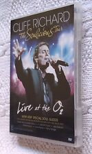 CLIFF RICHARD THE SOULICIOUS TOUR: LIVE AT THE O2 (DVD) R-4, LIKE NEW, FREE POST