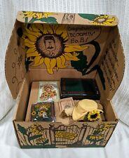Boyds Bears 1999 Bloomin' F.o.B. Friends Collector's Club Kit Sunflower Blossum