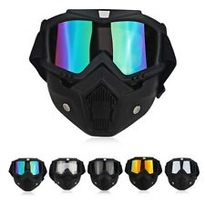 New listing Tactical Detachable Shield UV Goggles Paintball Airsoft CS Game Eyewear Glasses