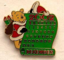 Disney Pin DS 12 Months of Magic Calendar Series December Winnie the Pooh