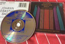 Bach Das Musikalische Opfer BWV 1079 (Czech CD 1988) Panton 81 0750 2131