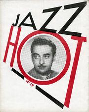 """JAZZ HOT N° 19 : Léo  CHAULIAC (JANVIER 1948)"