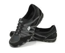 Skechers Bikers Relaxed Fit Slip On Comfort Shoes Women Size 10 Black Sneaker