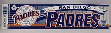 San Diego Padres Baseball Club Official Licensed MLB Bumper Sticker (B)