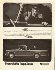 1964 Vintage ad for Dodge Builds Tough Trucks/Chrysler Motors Corp. (070113)