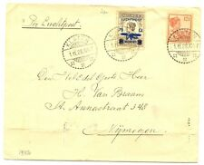 NED INDIE DUTCH INDIES  1928-11-1  CV  KLATEN   CREASED (NOT STAMPS)