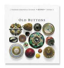 'Old Buttons' Book by Sylvia LLewelyn (Antique and Vintage Button Guide)
