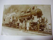AUST104 - c1900 ROYAL AUSTRIA-HUNGARY STATE Railway - LOCOMOTIVE 601 POSTCARD