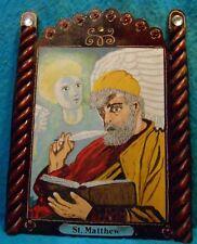 """St.Matthew and Angel Retablo, """"Evangelist-Tax Collector"""""""