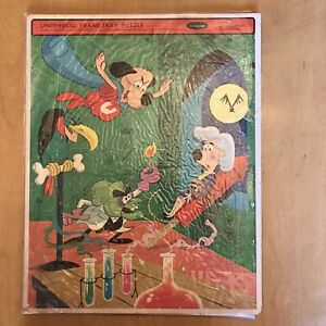 VINTAGE 1963 WHITMAN UNDERDOG TRAY PUZZLE would look great framed