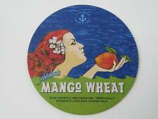 BEER Brewery COASTER ~ ANCHOR Brewing Co  Mango Wheat; San Francisco, CALIFORNIA