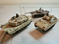 Forces Of Valor Unimax 1:72 T-72M Finnish Army, Bradley, Abrams tank. All 3 2005