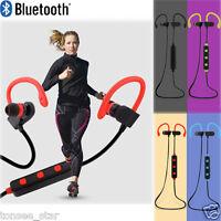 Bluetooth 4.1 Wireless Kopfhörer Stereo Ohrhörer In-Ear Sports Headset+Mikrofon