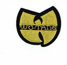 "3"" WU-TANG patch Iron on  Embroidered hip hop patches"