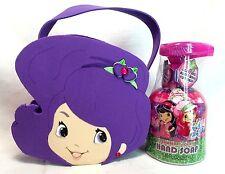Strawberry Shortcake Handmade Plum Puddin' Mini Tote Gift Bag Purse Lot (2) Soap