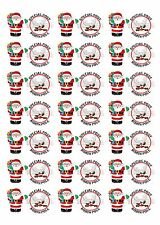 *** 42 X Santa North Pole Stickers ***