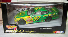 1998 NASCAR Hot Wheels Pro Racing Chad Little #97 John Deere Ford 1 24 Scale