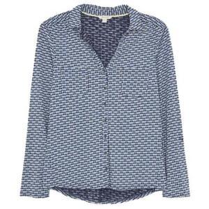 White Stuff Pocket Jersey Shirt - Navy Multi - RRP £39