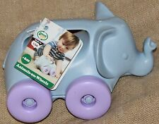 Green Toys Rolling Elephant on wheels 100% RECYCLED MADE IN THE USA baby kids
