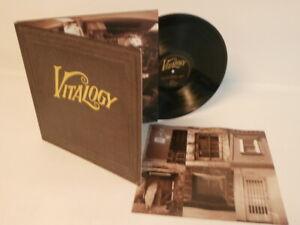 90s Rock PEARL JAM vitalogy Rare Original 1994 UK Vinyl LP + Inner Mint OMG!
