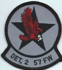57 Fighter Wing Det 2 US Air Force Squadron patch