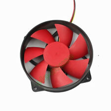 92mm x 25mm 12V 3Pin Round Red Blade PC Intel AMD CPU Cooling Heatsink Fan