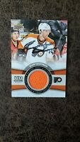 2015-16 Upper Deck Sean Couturier UD Game Jersey GJ-SC - Autographed! Smudged