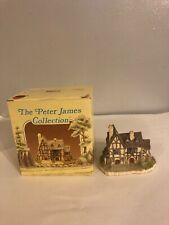 Russ Berrie The Tudor House Peter James Collection Village Collectible #6914 Box