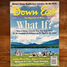DOWN EAST Magazine of Maine JUNE 2001 Weld Blue Hill Eastport Rockport Bigelow